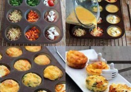 Egg Muffins: A Healthy, On-the Go Breakfast Idea